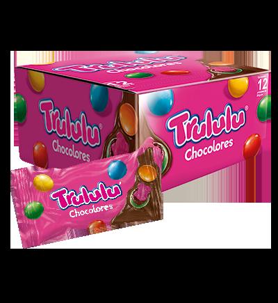 d51fca925 Trululu Chocolores. Gomitas bañadas en sabor ...