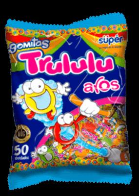 70aa66833 Gomitas Trululu clásicas con sabor natural en tarro - Super